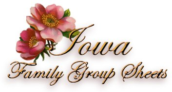 Iowa Family Group Sheet Project