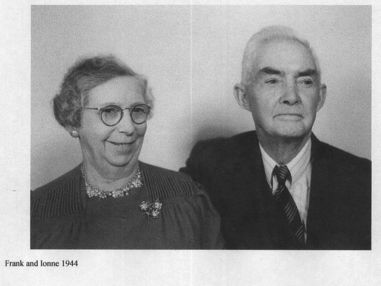 Frank and Ione in 1944